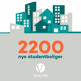 Bygging av studentboliger har vært en viktig sak både for regjeringen og for Venstre i flere år.