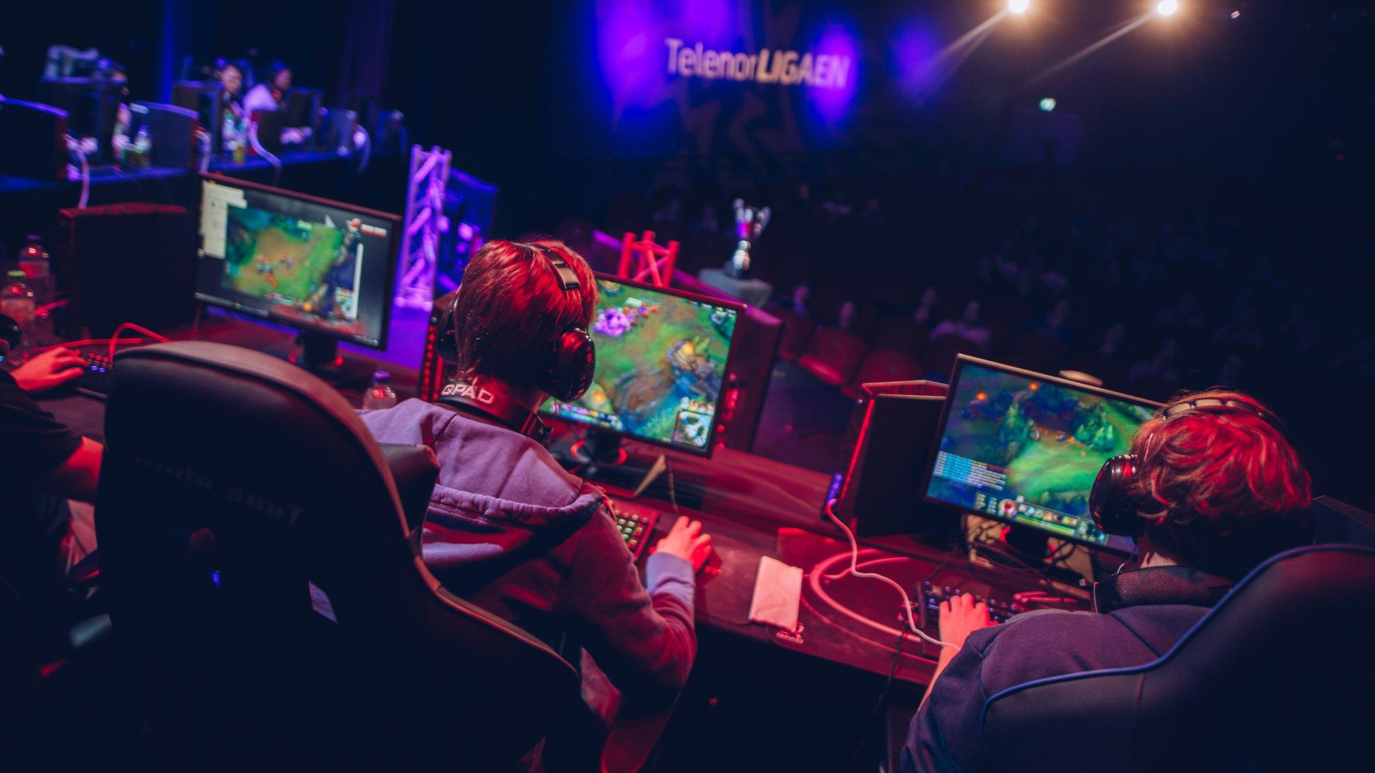 Ta E Sport Og Gaming Seriost Viken Venstre