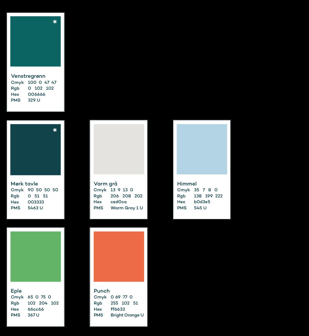 Venstres farger