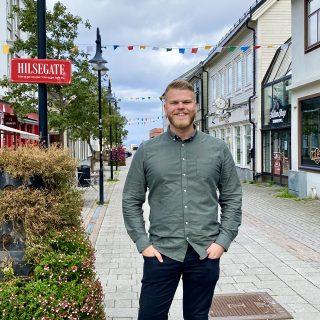 Even Aronsen, førstekandidat Troms