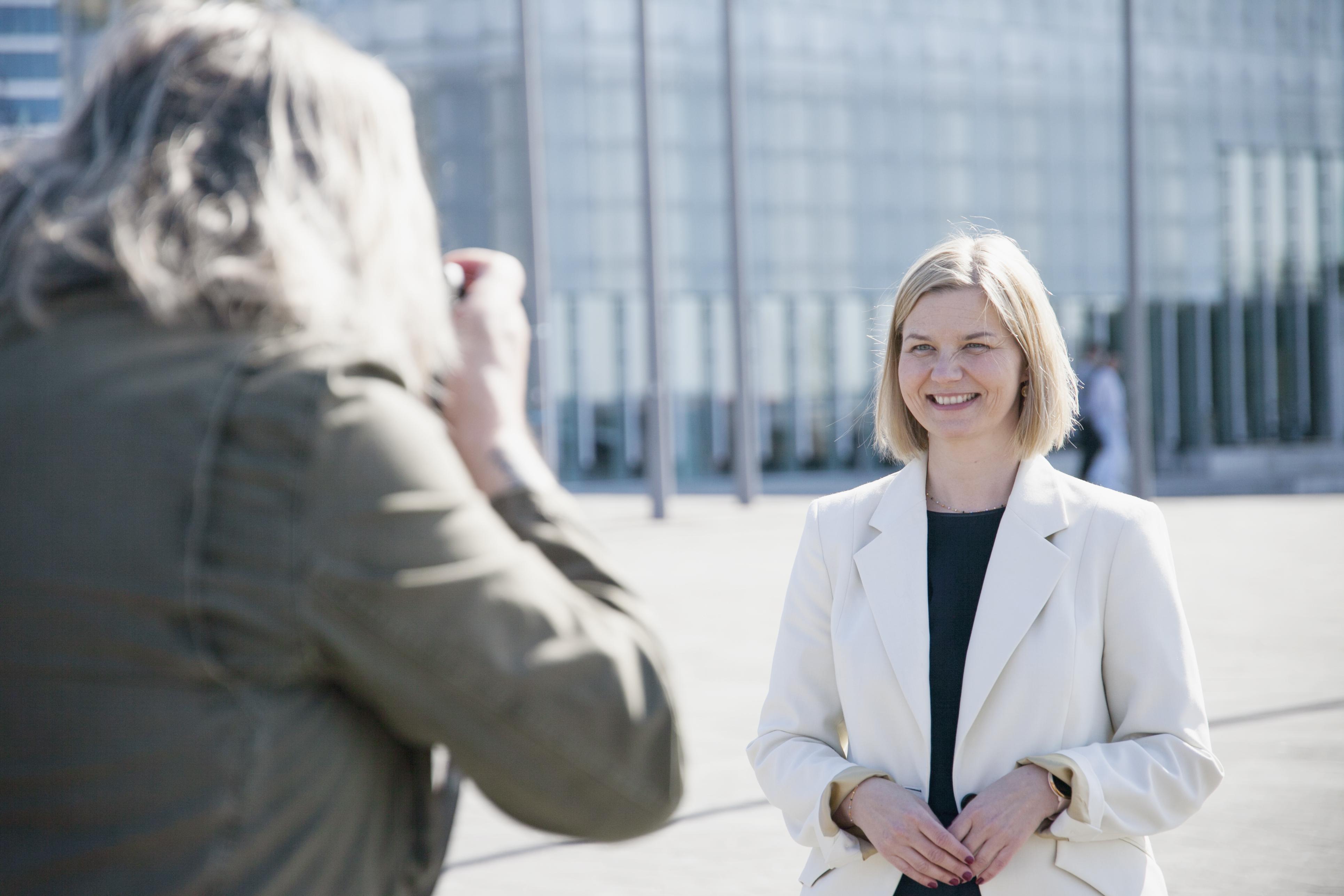 Venstres leder Guri Melby