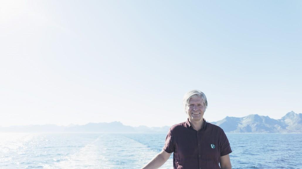 Ola Elvestuen på sjøen