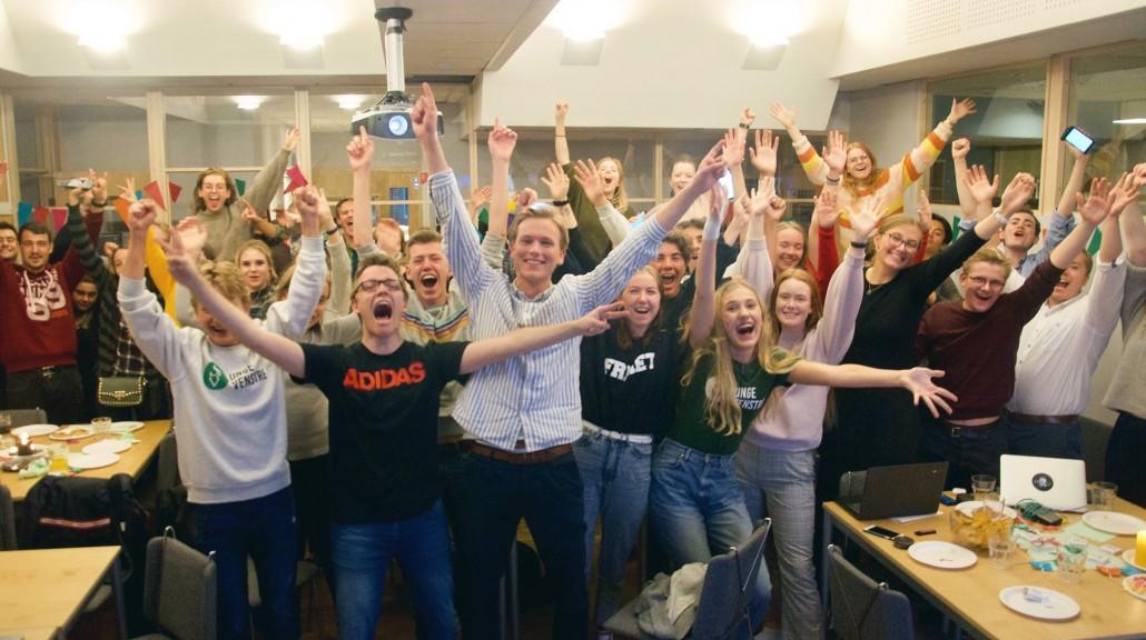Skolevalget 2019: Jubelvalg for Unge Venstre med historisk resultat.