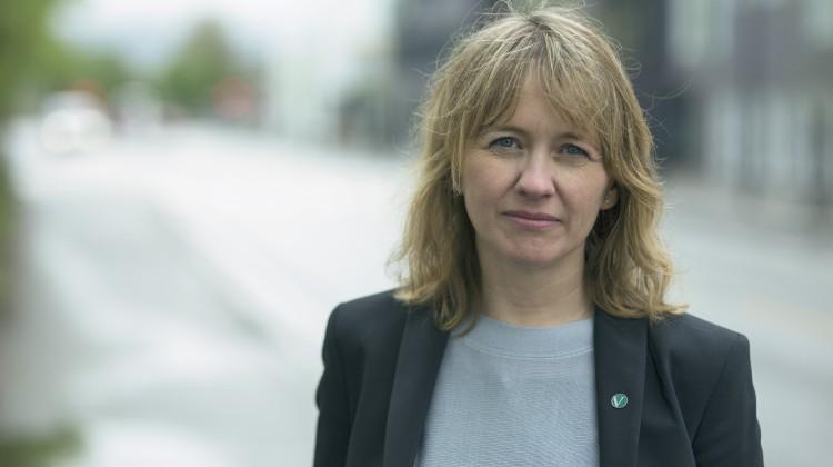 Gunhild Berge Stang er ordførar i Fjaler i Sogn og Fjordane. Foto: Jostein Vedvik/Venstre