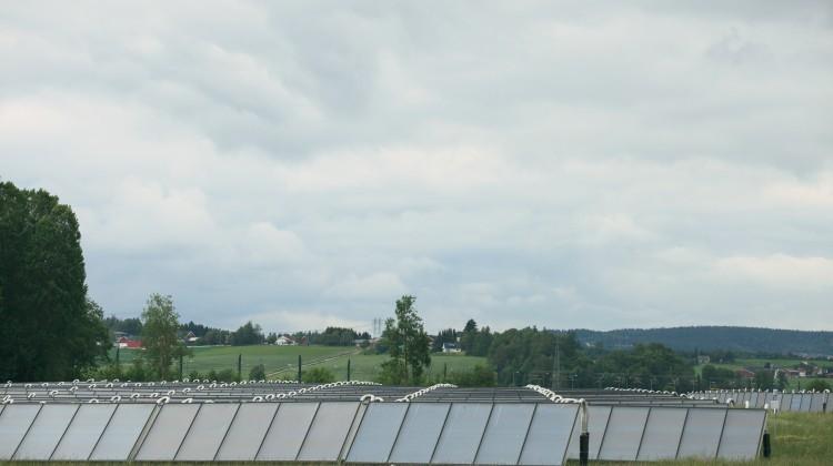Solfangeranlegget på Åråsen