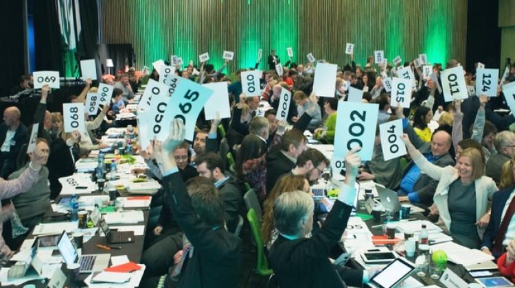 Votering på Venstres landsmøte