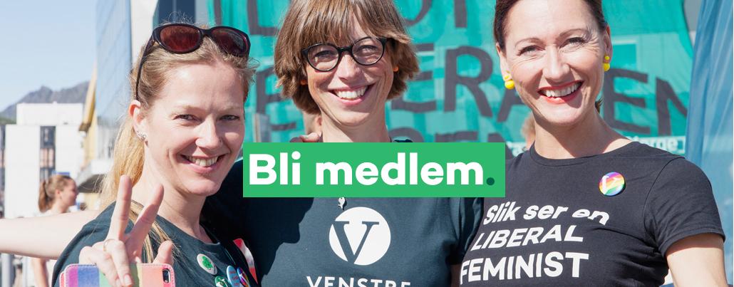 Bli medlem i Venstre