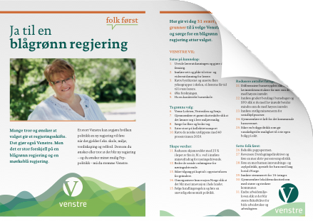 Flyer Valg 2013