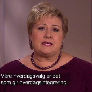 Venstre støtter statsministerens appell om norske borgeres bidrag til god integrering av flyktningene.