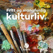 Uttalelse fra Venstres landsmøte 2018: Eit rikt og variert kulturliv