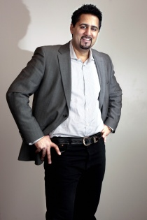 Abid Q. Raja, 2. kandidat for Venstre i Akershus.