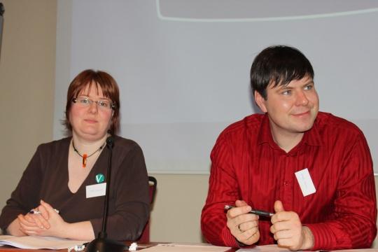 Vigdis Tonning og Alfred Bjørlo