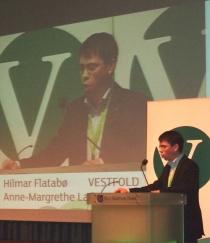 Hilmar Flatabø på Landsmøtet 2011