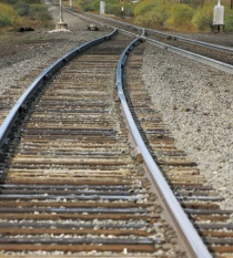Jernbane, tog, skinner
