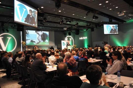 Venstres landsmøte ble arrangert på Fornebu denne helgen.
