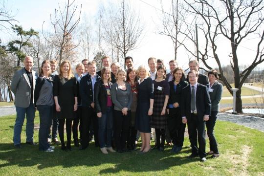 Akershus Venstre hadde 19 delegater på landsmøtet.