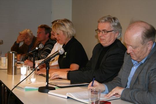 Panelet besto av debattanter med svært ulike syn på narkotikalovgivningen.