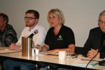 Rita Nilsen fortalte om sine egne personlige erfaringer.