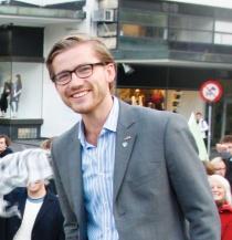Bare Venstre har lederen av ungdomspartiet på toppen av en valgliste: Sveinung Rotevatn fra Sogn og Fjordane.