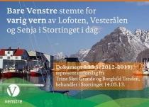 Venstre og Lofoten