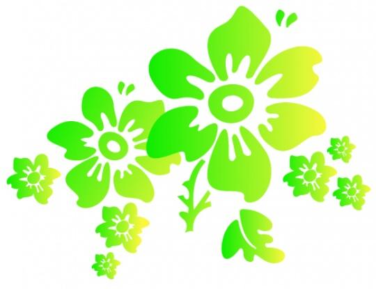 V-logo med dekor